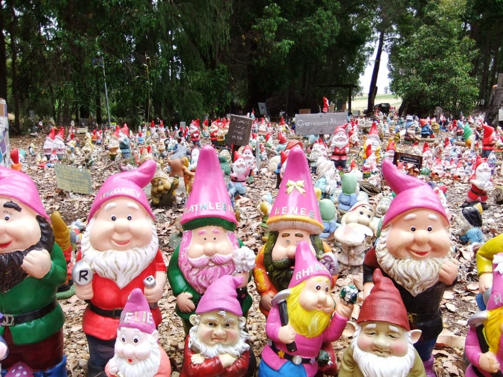 Gnomes Find Their Way Home