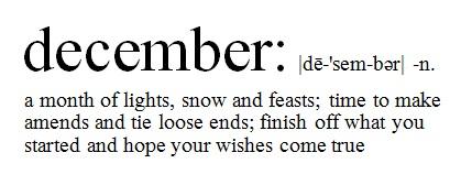 december definition